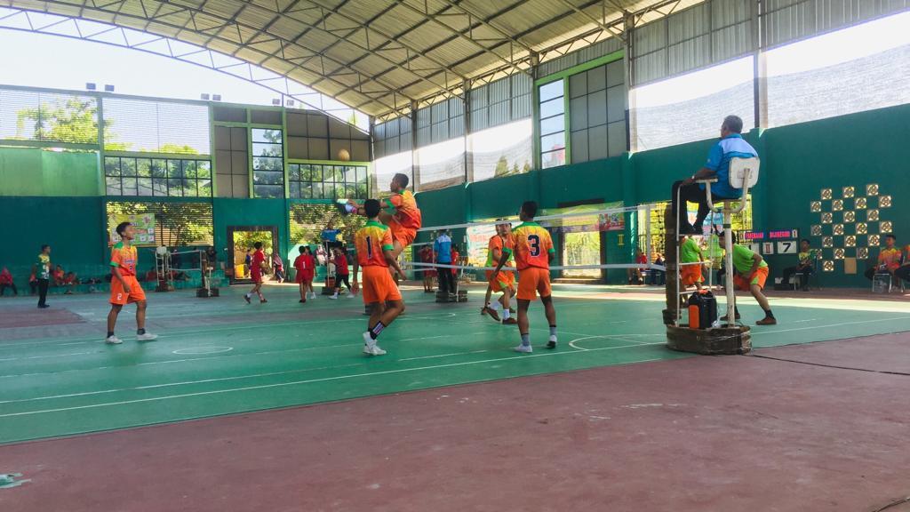 Sepak Takraw Quadran Putra. Bojonegoro vs Pamekasan Kamis 11 Juli 2019