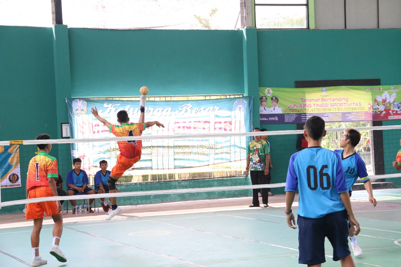 Cabang olahraga sepak takraw pada Minggu (7/7/2019)